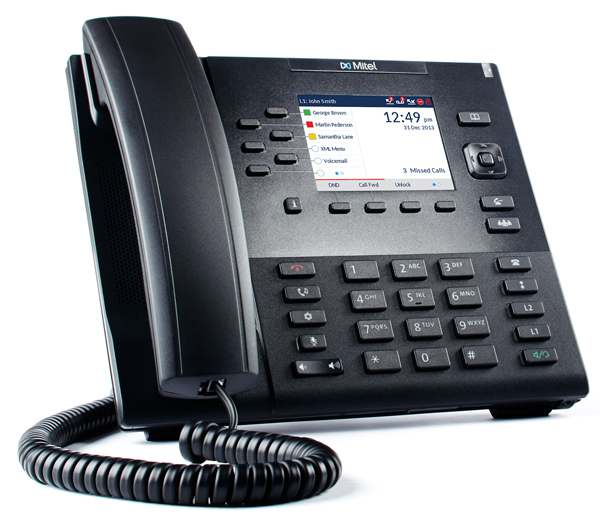 Phone Systems Toronto Trc Networks Mitel 6867 Sip Phone